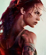Alicia Vikander's Tomb Raider Poster Is Going Viral for a Photoshop Mishap