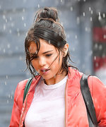 Bad Weather Is No Match for Selena Gomez's Smile