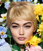 Gigi and Bella Hadid Don Pixie Cuts for Moschino's MFW Show