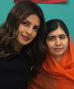 Malala Couldn't Believe She Met Priyanka Chopra IRL