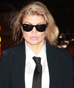 Fergie Places a Sexy Spin on Menswear with Racy Thigh-High Boots