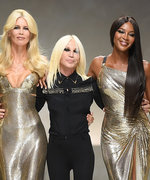 Cindy Crawford and the Original Supermodels Just Shut Down the Versace Show