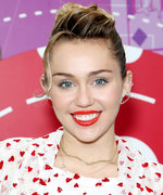 Daily Beauty Buzz: Miley Cyrus's Red Lipstick
