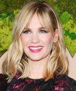 Daily Beauty Buzz: January Jones's Hot Pink Lipstick