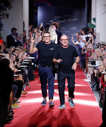 Dolce & Gabbana Stage Secret Fashion Show—Before Official Show