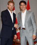 Prince Harry and Justin Trudeau Hang Out, Melt Hearts Everywhere