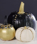 How To Create Your Own Studded Pumpkins This Autumn
