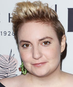 Lena Dunham Just Dyed Her Pixie Cut Blue