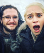 All the Times Emilia Clarke and Kit Harington Were Total Friendship Goals