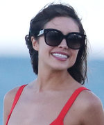 Olivia Culpo's Red Hot October Bikini Will Have You Thinking It's Summer Again