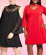 11 Curve-Friendly Holiday Dresses From Target