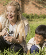 Kate Hudson Is Setting out to End World Hunger (and Here's How You Can Help, Too)