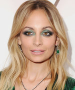 Daily Beauty Buzz: Nicole Richie's Aquamarine Smoky Eye