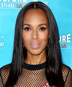 Daily Beauty Buzz: Kerry Washington's Metallic Red Cat Eye