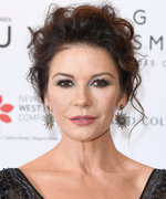 Daily Beauty Buzz: Catherine Zeta-Jones's Messy Updo