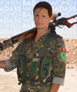 This Badass Woman Joined an All-Female Militia to Help Fight ISIS in the Middle East
