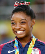Simone Biles Trades in Her Gymnastics Uniform to Become a Houston Texans Cheerleader