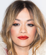 Daily Beauty Buzz: Rita Ora's Shimmery Red Lipstick