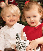 Morocco's 3-Year-Old Twin Prince and Princess Could Not Be Cuter in Their Family Christmas Card