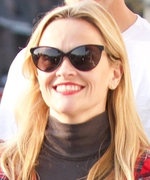 Reese Witherspoon Looked Positively Festive in a Holiday-Themed Dress