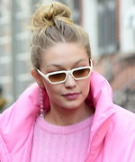 Gigi Hadid Will Make You Want to Invest in a Pink Puffer Coat