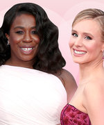 At The SAG Awards, Pale Pink Is The New Black
