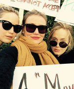 Adele, JLaw, and Cameron Diaz Make Powerful Statement at Women's March