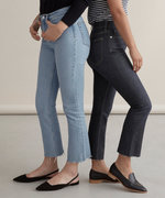 Everlane's Latest Pair of Jeans Promise to Make You Look Taller