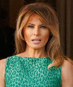 What Is Melania Trump Saying with Her St. Patrick's Day Animal Print?
