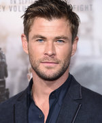 Chris Hemsworth's New Mustache Is a Bold Choice