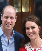 Kate Middleton and Prince William Step Out with Their Newborn Baby for the First Time