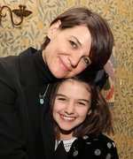Katie Holmes Shares a Rare Photo of Suri Cruise from Their Visit to a Refugee Camp in Greece