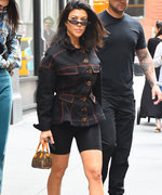 Kourtney Kardashian Mixed Athleisure with Workwear, and It's Major Style Inspo