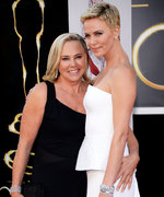 "Charlize Theron Says Her Mom, Who Shot Her Dad in Self-Defense, ""Made Me Brave"""