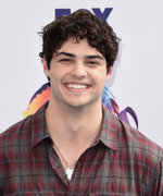 Noah Centineo Has Blonde Hair Now — But It's Not on His Head