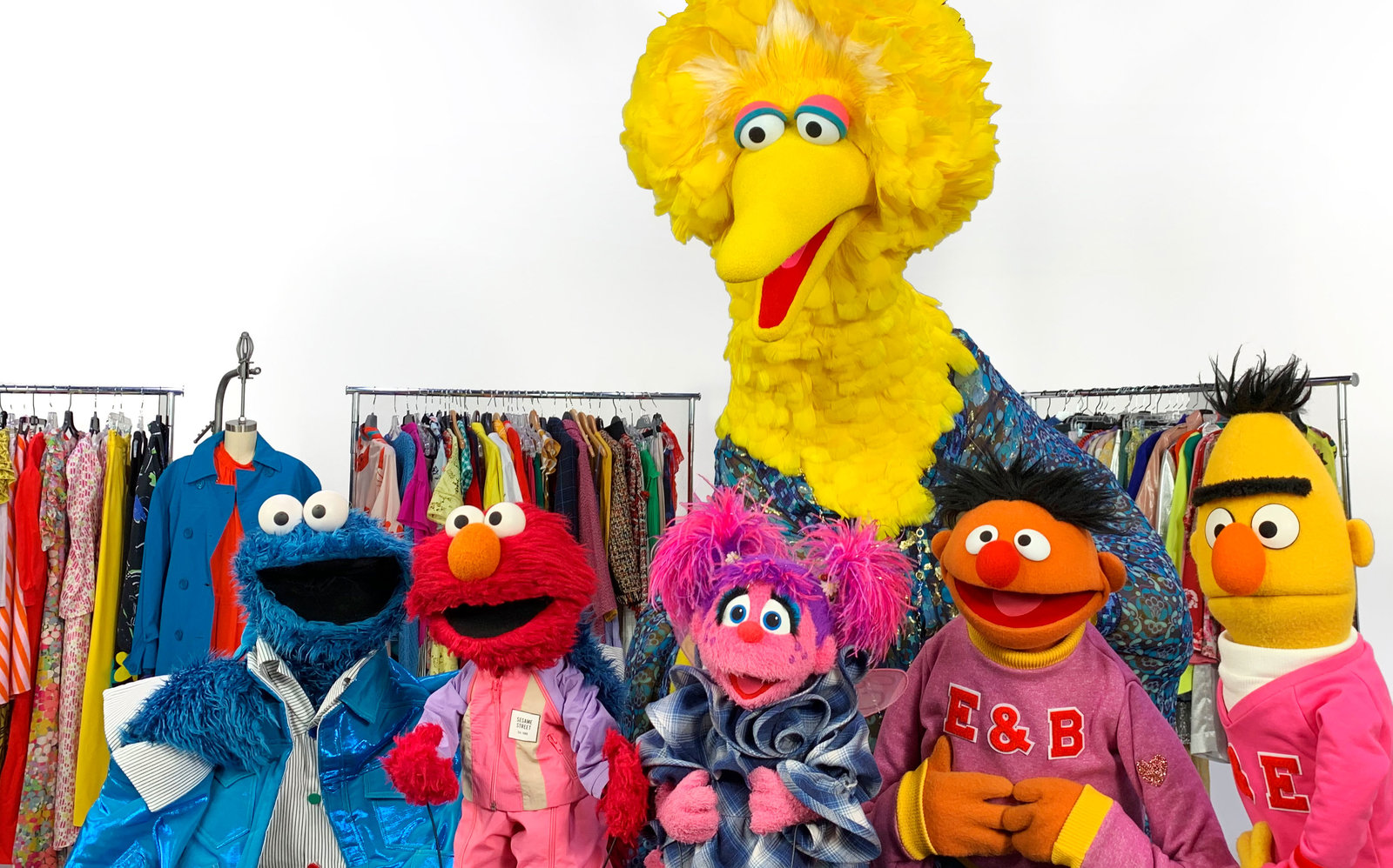 107596ff Sesame Street's Turning 50, and InStyle Dressed Our Favorite Characters for  the Party