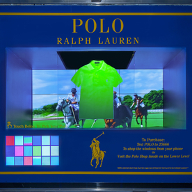 Ralph Lauren Goes Sci-Fi with Interactive Shopping Windows for Father's Day