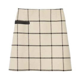 Tory Burch Plaid Skirt
