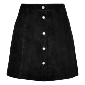 Iro Suede mini skirt