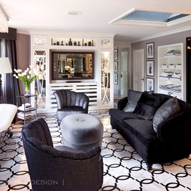Peek Inside Kris Jenners California Mansion