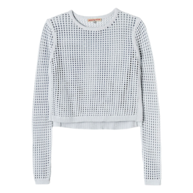 <p>Mesh Cropped Pullover</p>