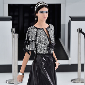 Kendall Jenner Stars in Chanel's Airport Runway Show