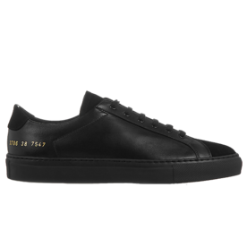 <p>Achilles Premium leather and suede sneakers</p>