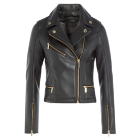 Karl Lagerfeld Leather biker jacket