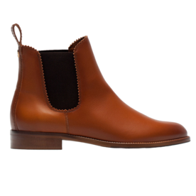 <p>Leather Ankle Boots</p>