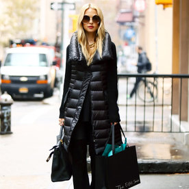 3 Celebrities Show You How to Look Chic in a Puffer Vest