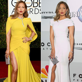 The Best Red-Carpet-to-After-Party Outfit Changes from the Golden Globes