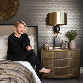 Peek Inside Kaley Cuoco's Newly Revamped Guest Bedroom