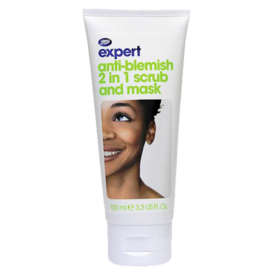 Boots+Expert+Anti-Blemish+2-in-1+Scrub+and+Mask