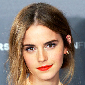 Emma Watson Updates Her Look with the Prettiest Bangs